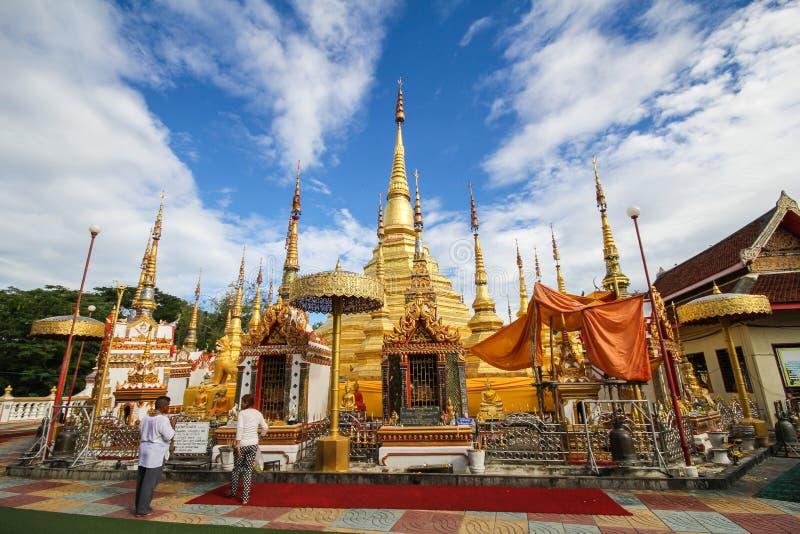 Wat Phra Borommathat Bantak, Tak Province, Thailand lizenzfreie stockbilder