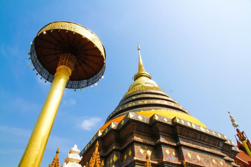 Wat Phra ce Lampang Luang images libres de droits