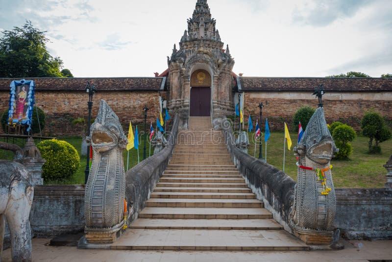 Wat Phra ce Lampang Luang Le temple antique en Tha?lande images stock