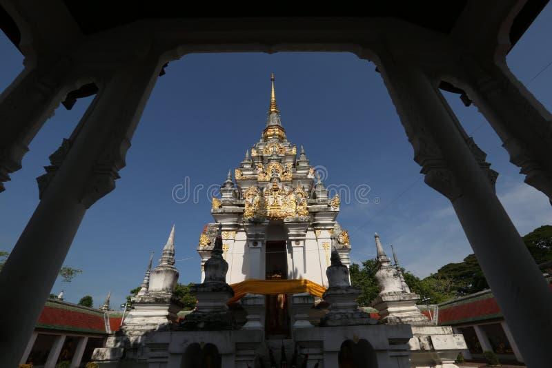 Wat Phra That Chaiya Temple, Suratthani, Thailand lizenzfreies stockfoto