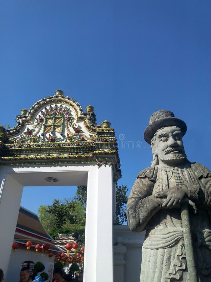 Wat Phra Chetuphon Wat Pho stockfotos