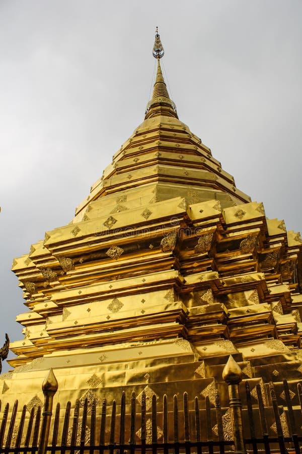Wat Phra die Doi Suthep stock afbeelding