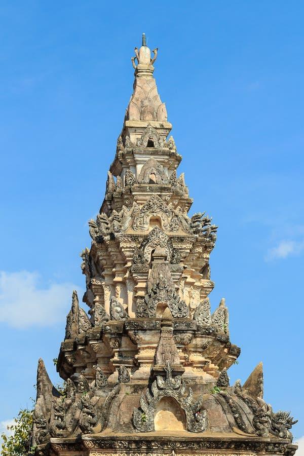 Wat Phra die Lampang Luang stock afbeelding