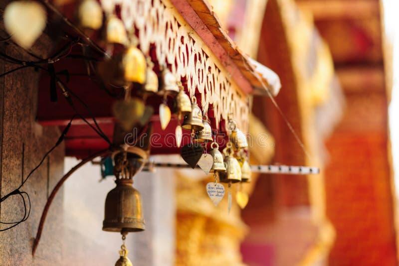 Wat Phra That Doi Suthep, Chiang Mai, Thaïlande images libres de droits