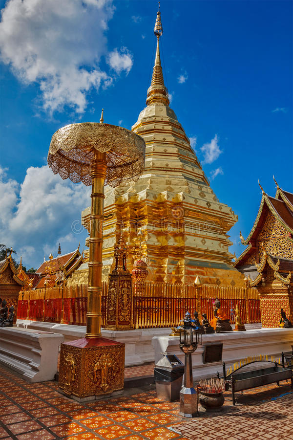 Download Wat Phra That Doi Suthep. Chiang Mai, Thailand Stock Image - Image: 34113729