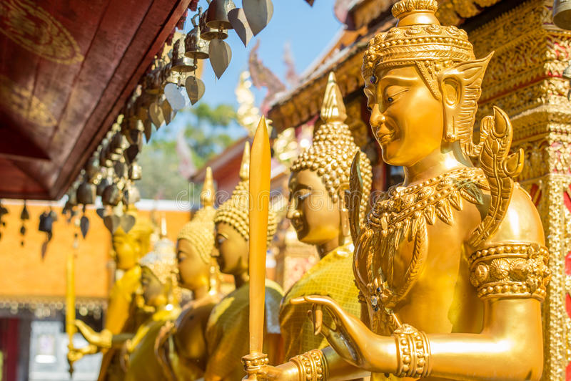 Wat Phra That Doi Suthep em Chiang Mai, Tailândia fotografia de stock