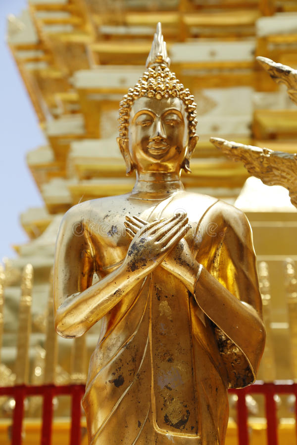 Wat Phra That Doi Suthep est attraction touristique de Chiang Mai photo stock