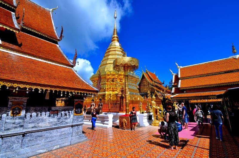 Wat Phra That Doi-suthep Gebirgstempel Thailand asien stockfotografie