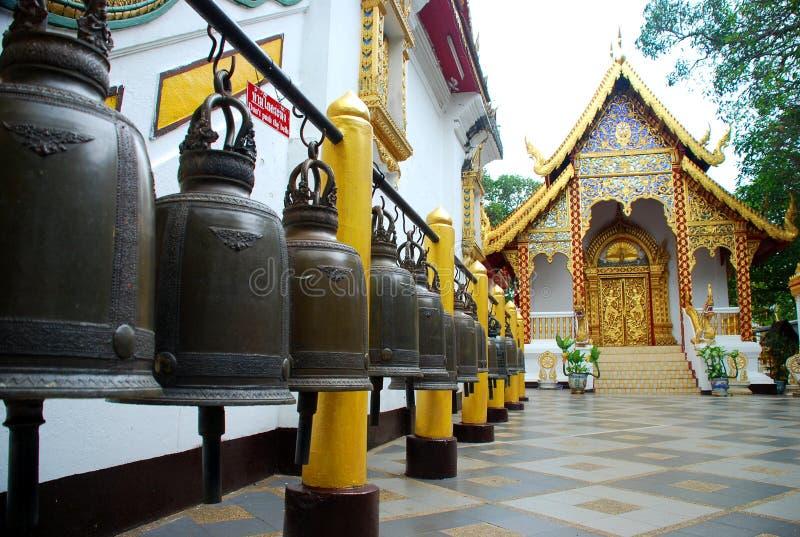 Wat Phra That Doi Suthep-tempel. Chiang Mai, Thailand stock foto