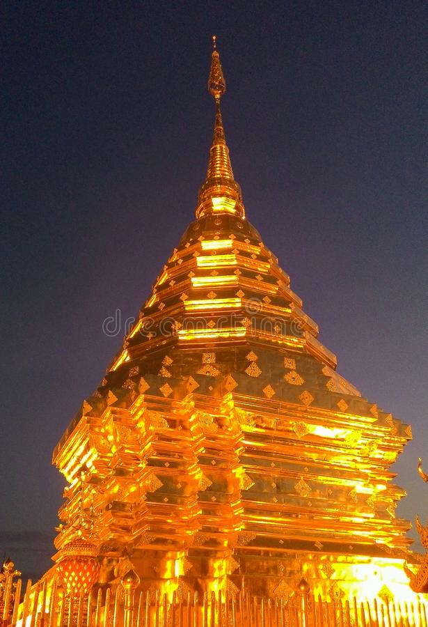 Wat Phra esse Doi Suthep imagem de stock