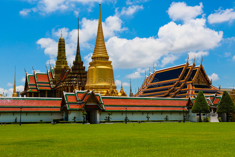 Wat Phra Kaeo 免版税库存照片