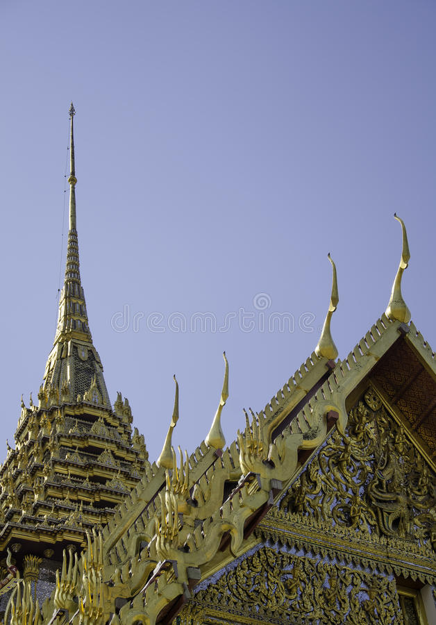 Wat Phra Kaeo stock afbeeldingen