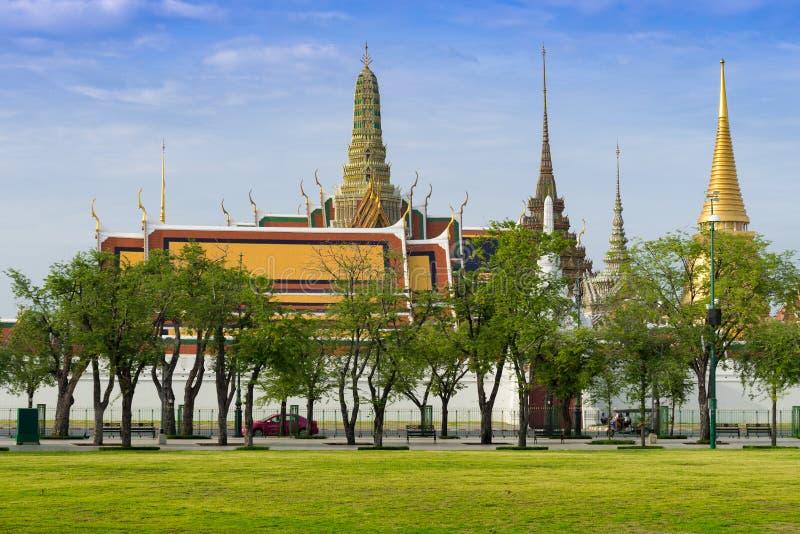 Wat Phra Kaeo stockfotos