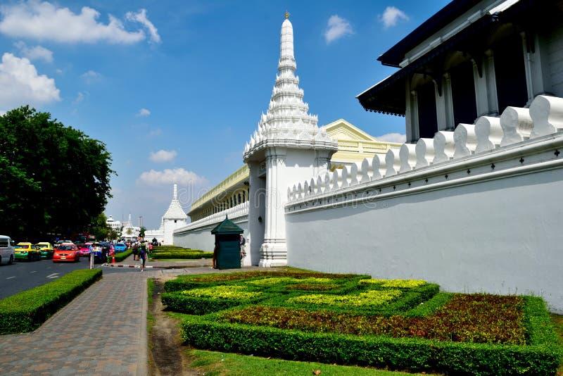 Wat Phra Kaeo, Bangkok, Tailandia imágenes de archivo libres de regalías