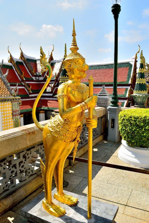 Wat Phra Kaeo, Bangkok, Tailandia foto de archivo
