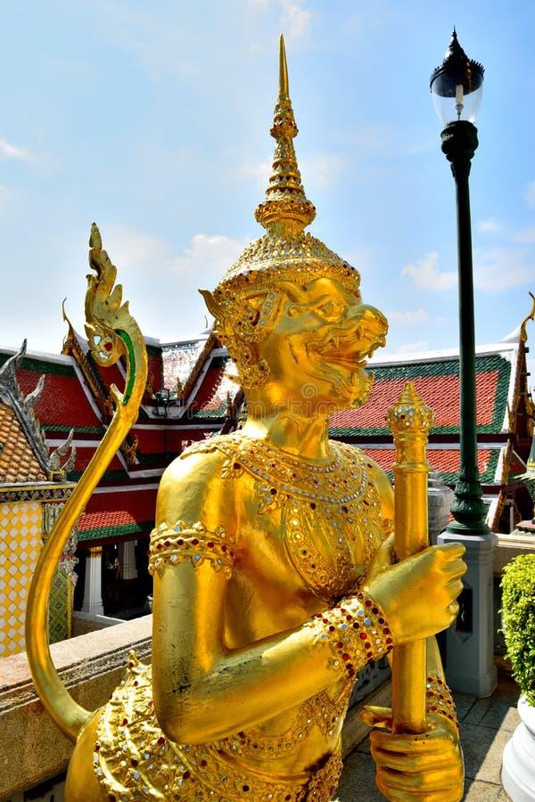 Wat Phra Kaeo, Bangkok, Thailand stock afbeeldingen
