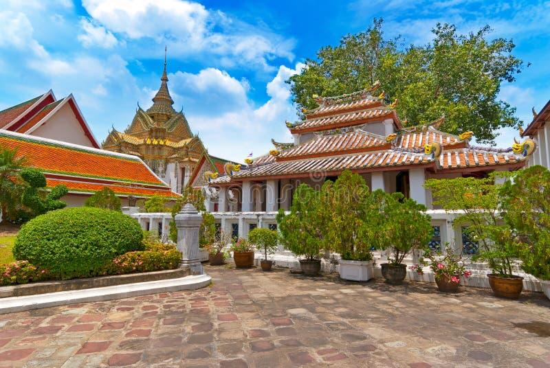 Wat Phra Kaeo, Banguecoque imagem de stock royalty free