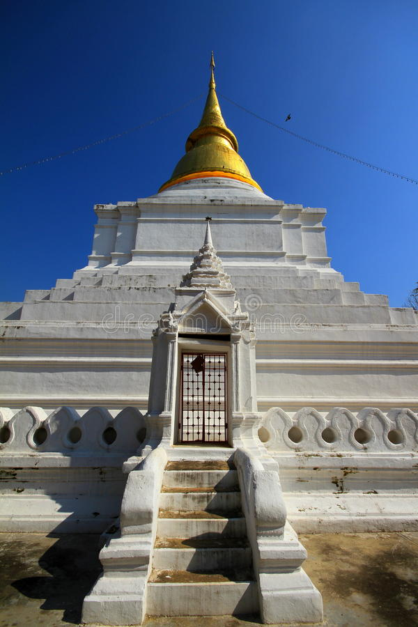 Wat Phra Kaeo Don Tao, Lampang royalty free stock photos