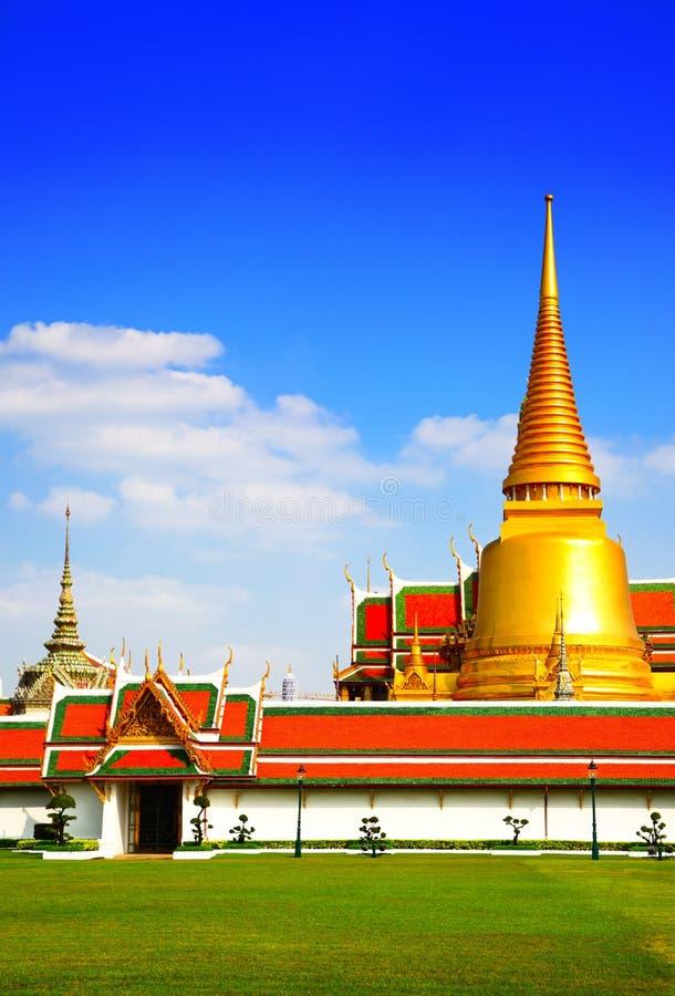 Wat Phra Kaeo temple royalty free stock photos