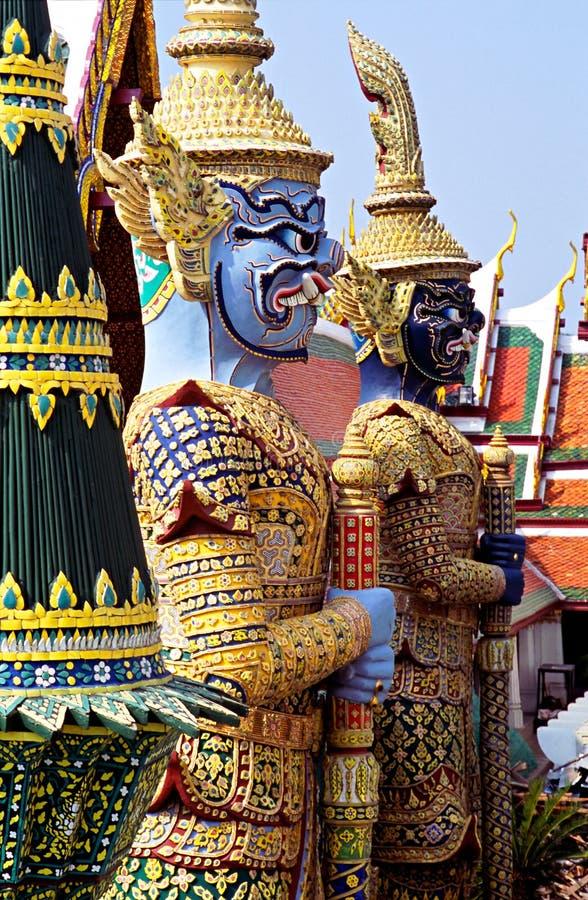 Free Wat Phra Kaeo Temple, Bangkok, Thailand. Stock Photography - 6676202