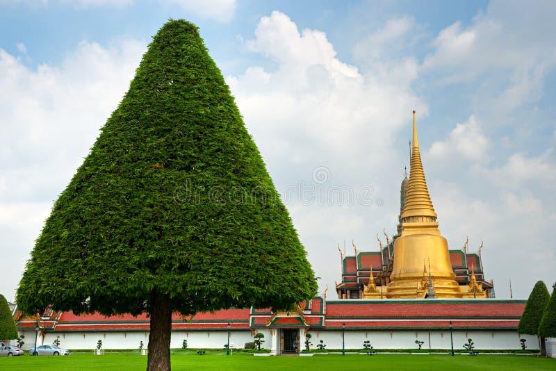 Wat Phra Kaeo Temple at night, bangkok, Thailand.