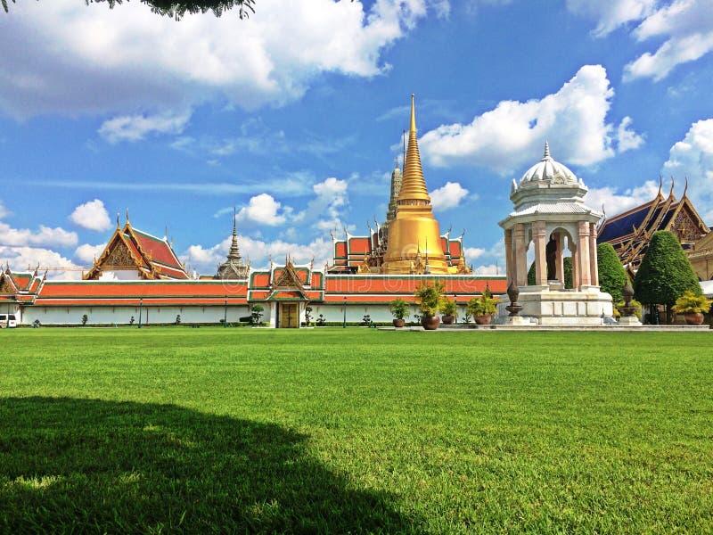 Wat Phra Kaew на Бангкоке стоковая фотография rf