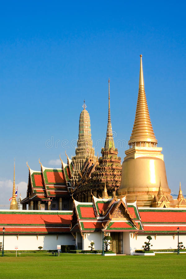 Wat Phra Kaew immagini stock libere da diritti