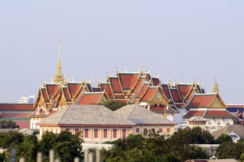 Wat Phra Kaew royaltyfri bild