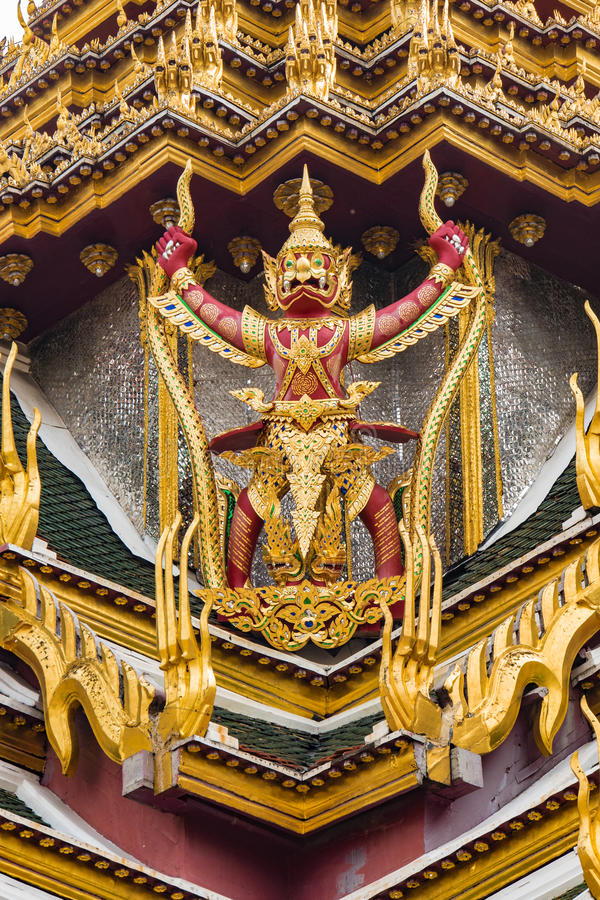 Wat Phra Kaew foto de stock