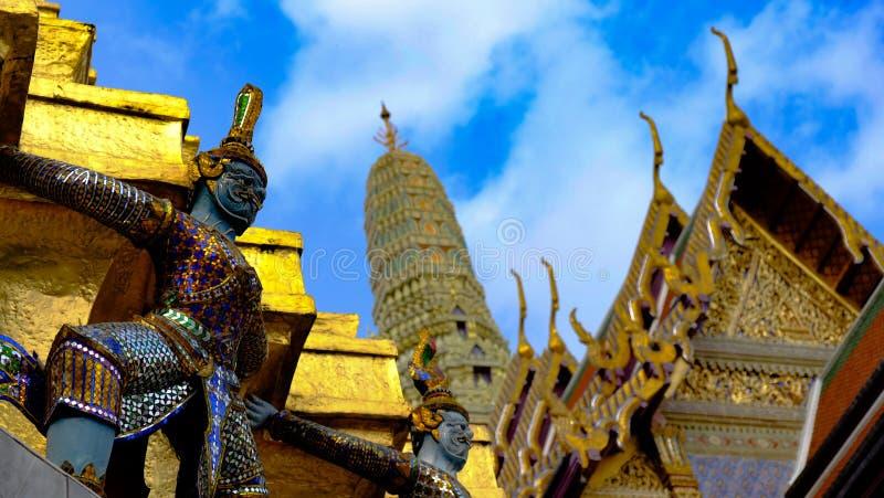 Wat Phra Kaew, Bangkok, Tailandia fotografia stock libera da diritti