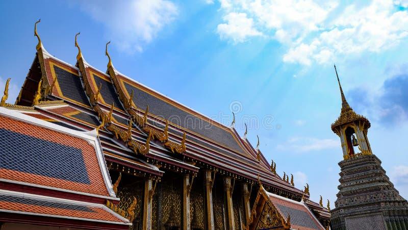Wat Phra Kaew, Bangkok, Tailandia fotografie stock libere da diritti