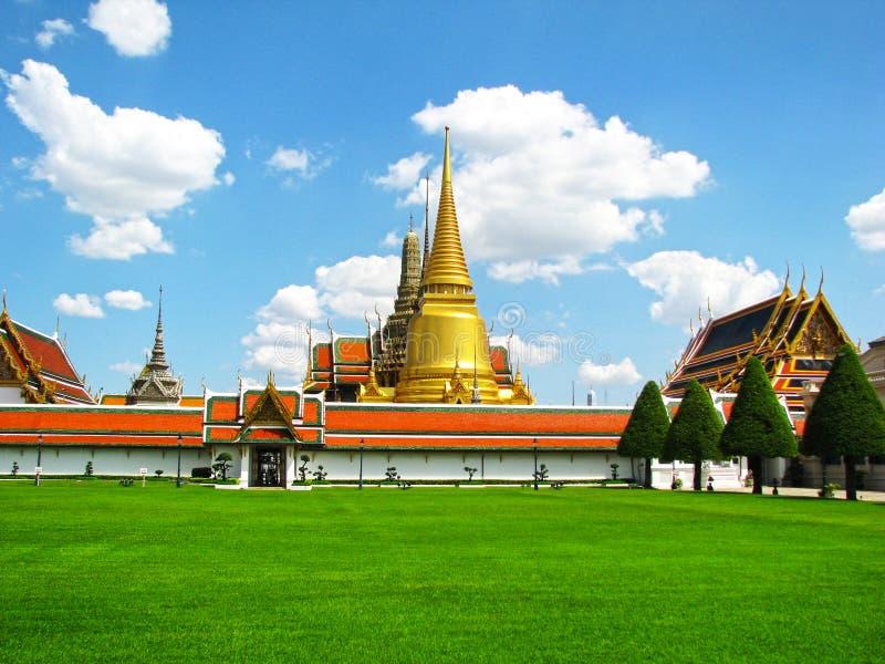 Wat Phra Kaew in Bangkok stockfotos