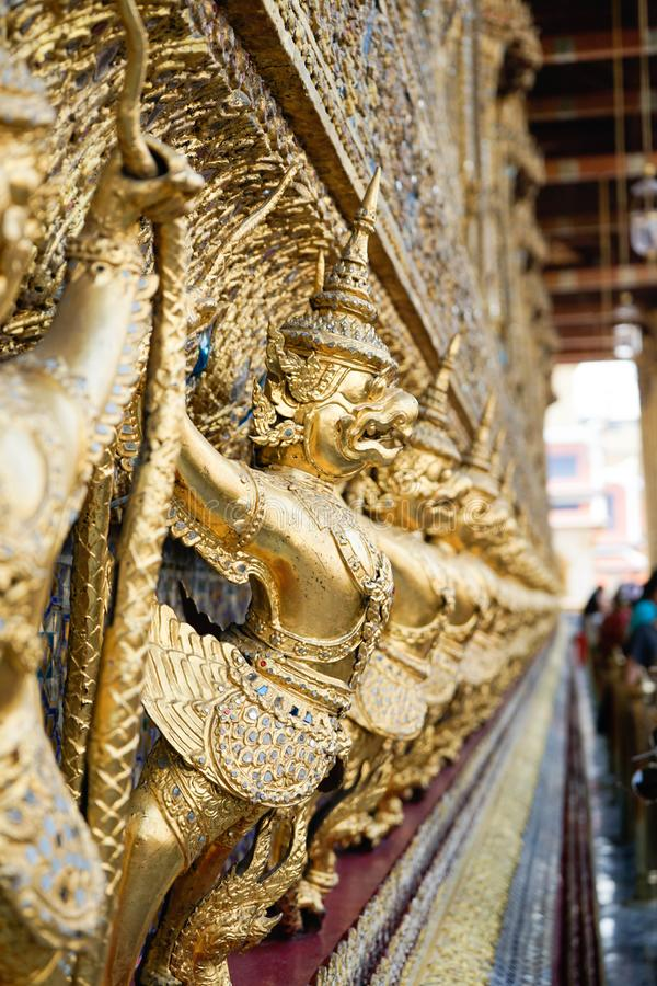 Wat Phra Kaew, Bangkok, Thailand royalty-vrije stock afbeelding