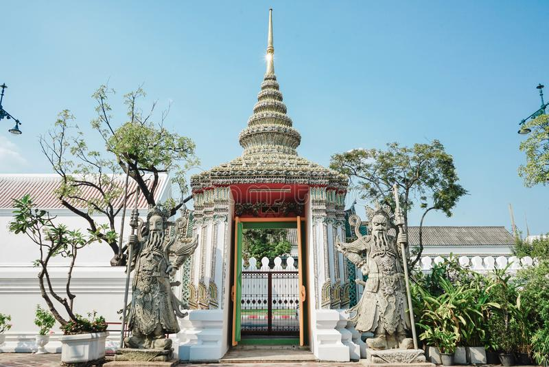 Wat Phra Kaew, Bangkok, Thailand stock afbeelding