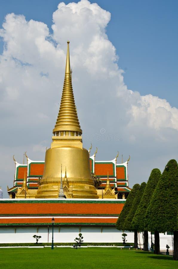 Wat Phra Kaew, Bangkok , Thailand. Thailand's main temple in the Grand Palace stock photography