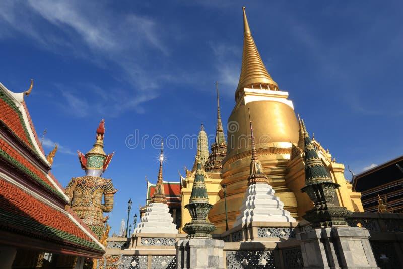 Wat Phra Kaew, Bangkok, Thailand lizenzfreies stockbild