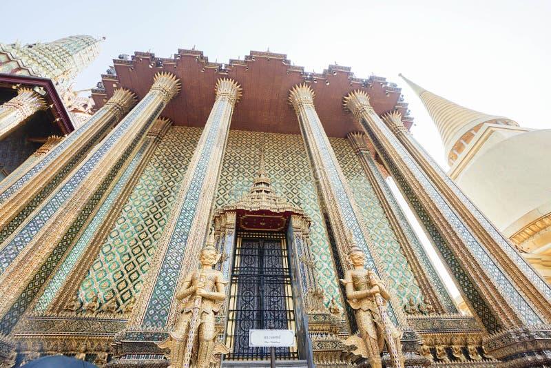 Wat Phra Kaew, Banguecoque, Tailândia fotografia de stock
