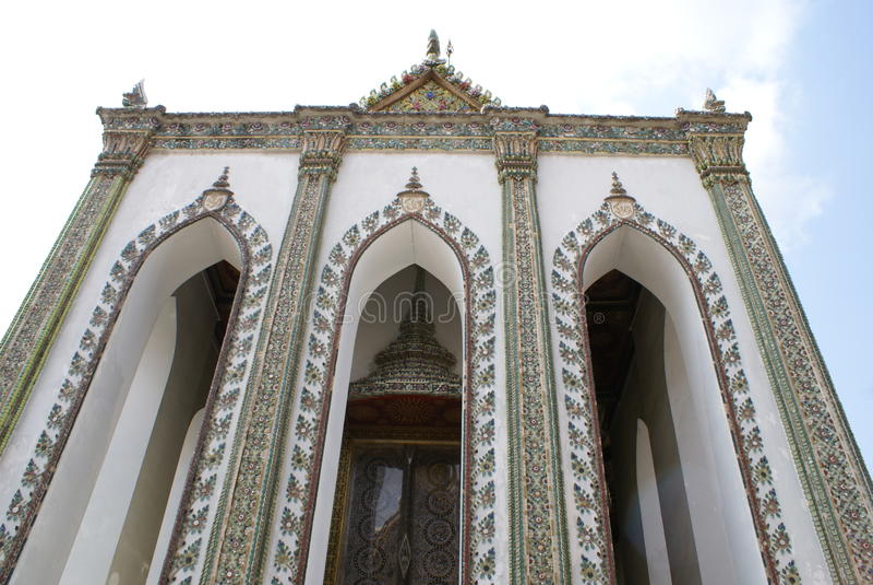 Wat Phra Kaew, Banguecoque, Tailândia imagens de stock royalty free