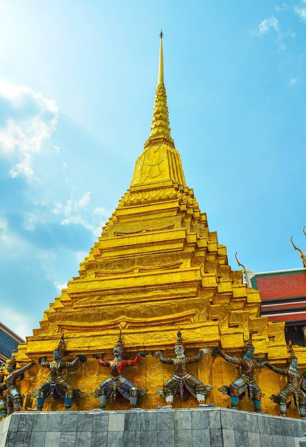 Wat Phra Kaew Banguecoque Tailândia imagens de stock royalty free