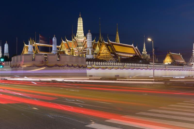 Wat Phra Kaew - de Tempel van Emerald Buddha in Bangkok, Thailand royalty-vrije stock fotografie