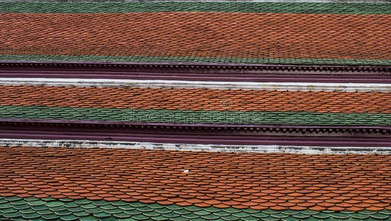 Wat-phra-kaew delle tempie del tetto fotografie stock