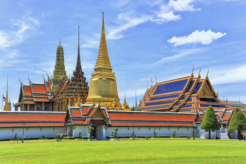 Wat Phra Kaew Grand Palace Bangkok photographie stock