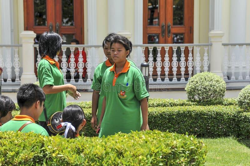 Wat Phra Kaew Grand Palace Bangkok stock photo