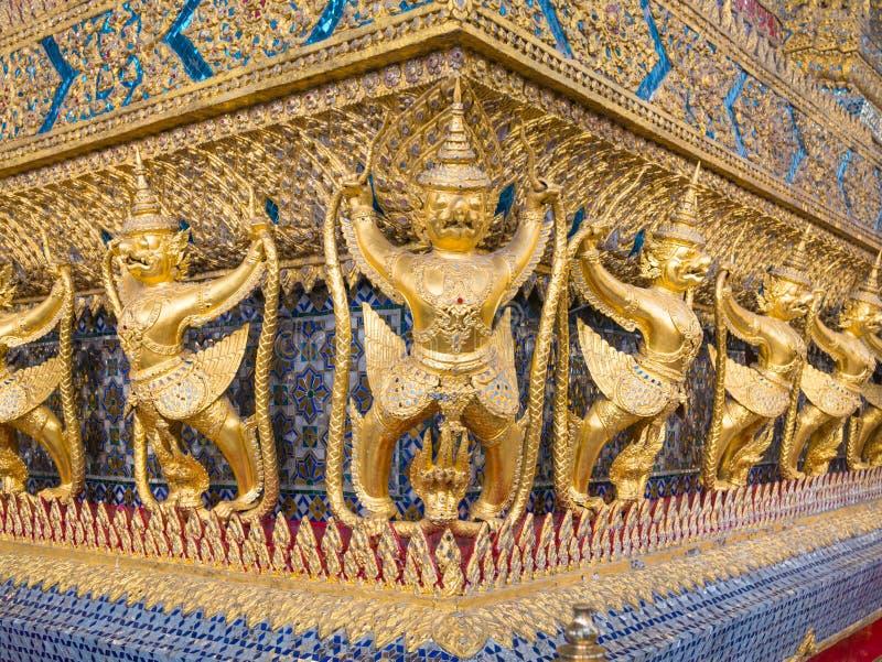 Wat Phra Kaew (le palais grand) de la Thaïlande photographie stock