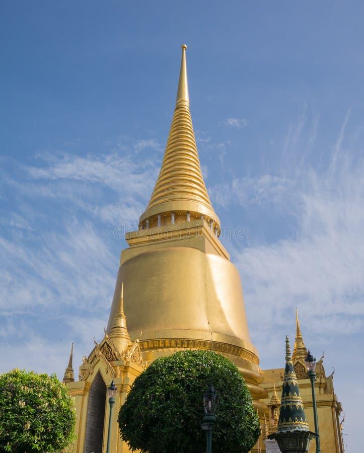 Wat Phra Kaew (le palais grand) de la Thaïlande photos libres de droits