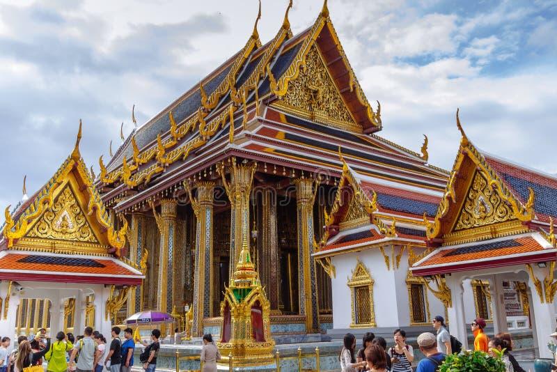Wat Phra Kaew, le palais grand, le temple le plus célèbre et point de repère de la Thaïlande photo libre de droits