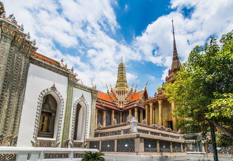 Wat Phra Kaew nella luce del giorno fotografia stock