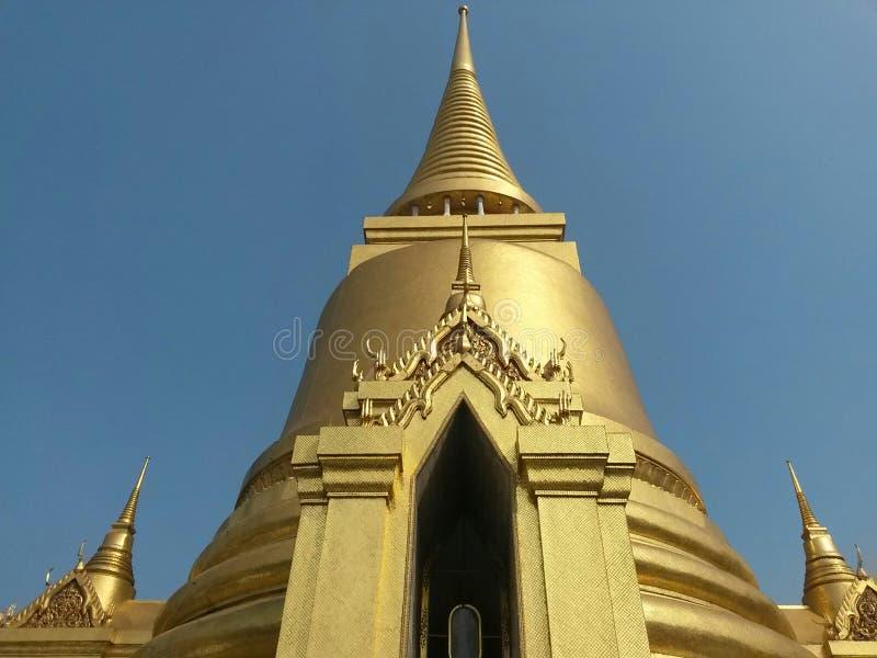 Wat Phra Kaew tempel, Bangkok, Thailand South East Asia fotografering för bildbyråer