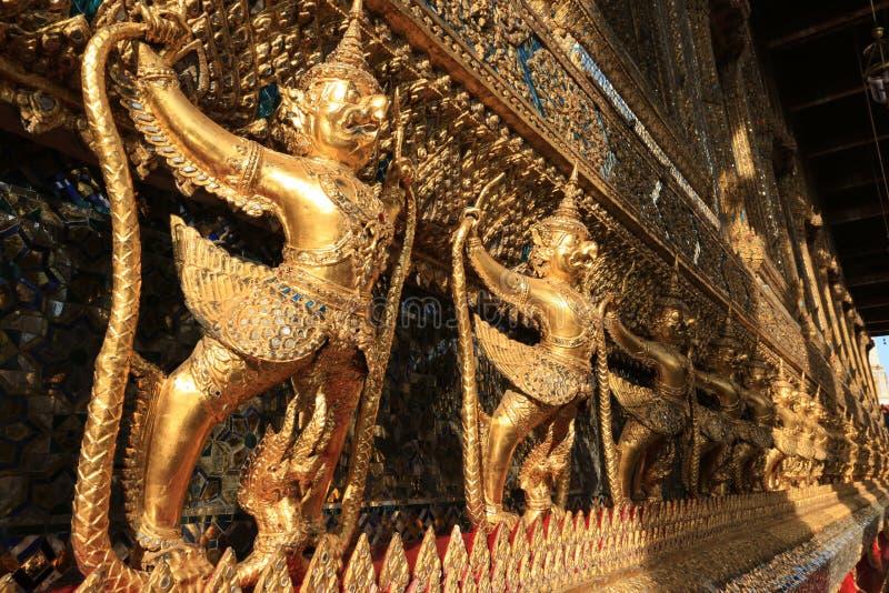 Wat Phra Kaew Temple, Bangkok, Thailand stockfotos