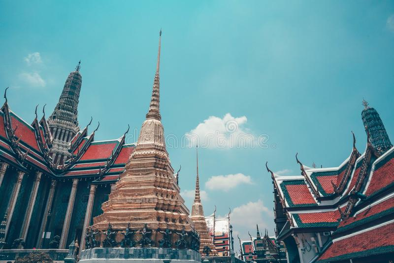 Wat Phra Kaew photos stock